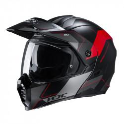KASK HJC C80 ROX BLACK/RED